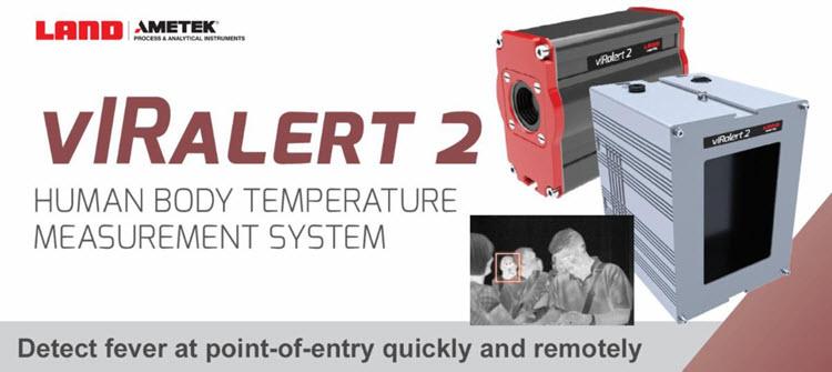 vIRalert 2 Human Body Temperature Measurement System